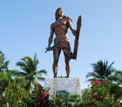 Lapu-lapu's tabak can murder just like Magellan's cross.