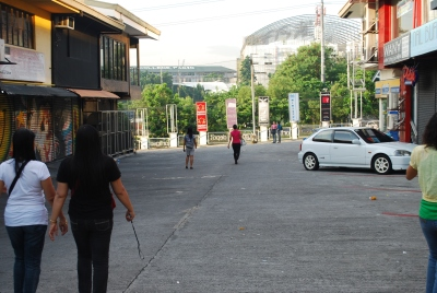 Saving money in street walking