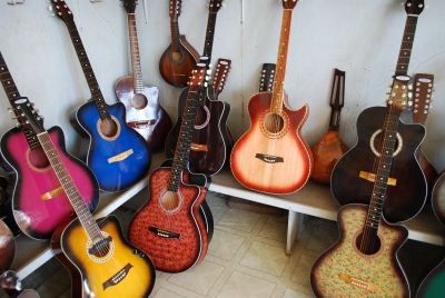 Guitar is for songs; His coming is preceded by Storm.