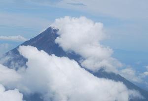 Mayon Volcano.
